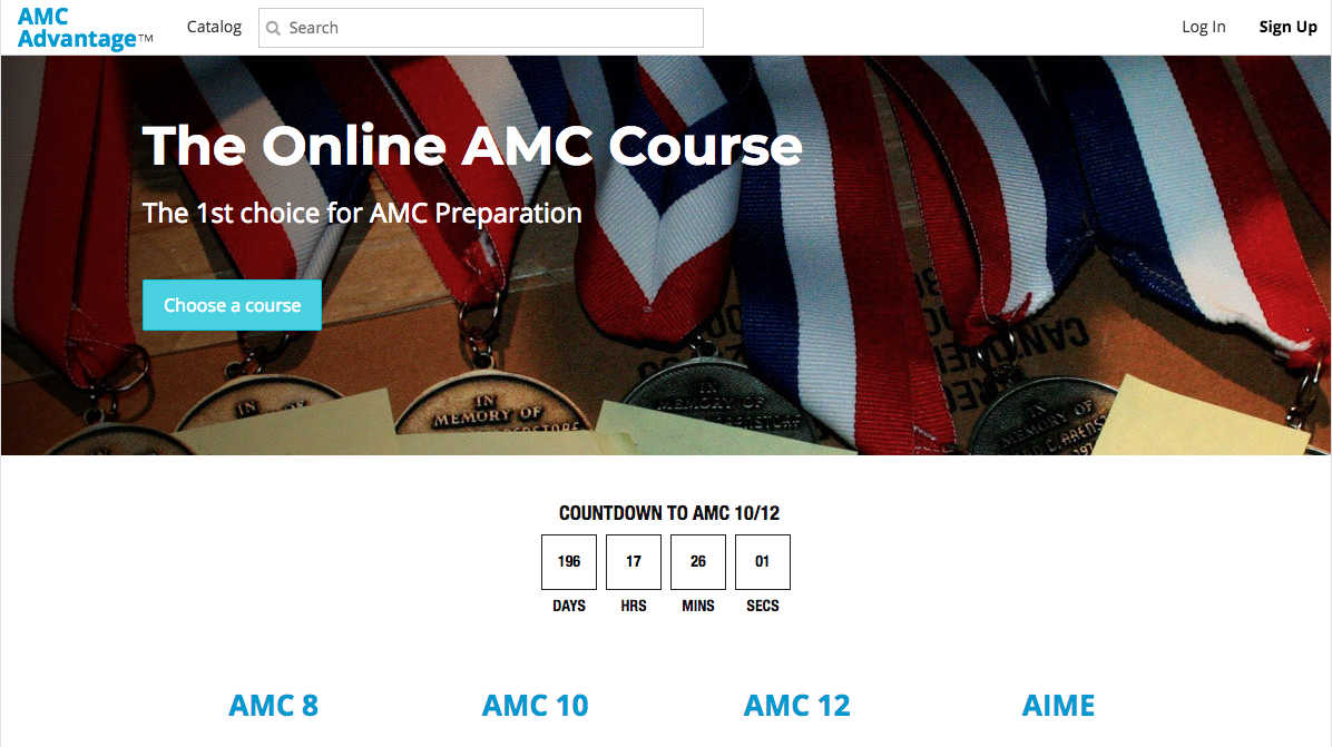 amc home page